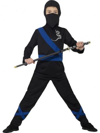 63f2c7120868 Detský kostým Ninja čierny - Party-Store.sk