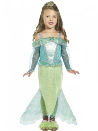 26e2b4243 Detský kostým pre dievča - Malá morská víla - Party-Store.sk