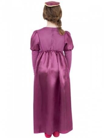 083af0394 Detský kostým pre dievča - Princezná tmavo ružová - Party-Store.sk