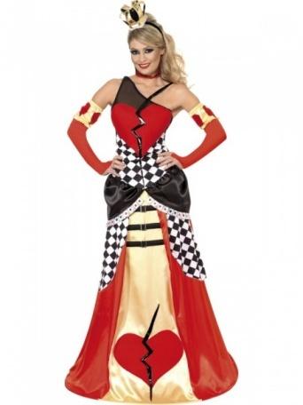 Kostým pre ženy - Srdcová kráľovná - Party-Store.sk cc6b7658e75