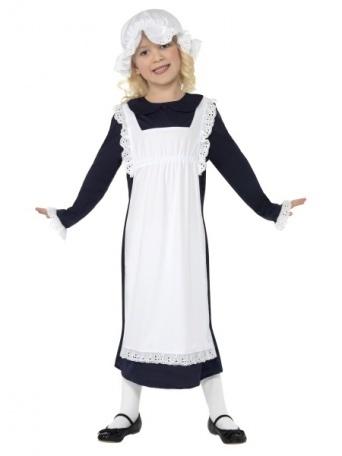 Detský kostým pre dievča - Slúžka - Party-Store.sk b69e4bd8719
