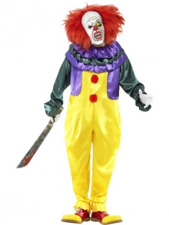 Kostým Unisex - Hororový klaun - Party-Store.sk e3abbac35c