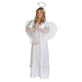 b537eba00 Kostým pre ženy - Anjel so zlatým vzorom - Party-Store.sk